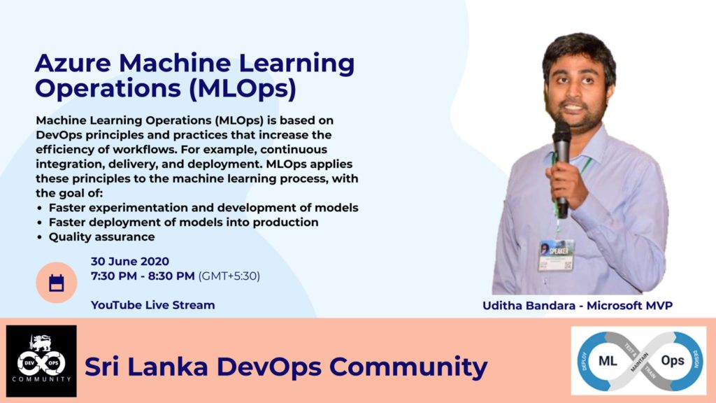 Sri Lanka DevOps Community Online Meetup.